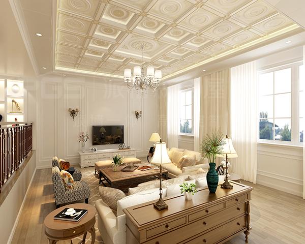 派格森电视背景墙为客厅锦上添花